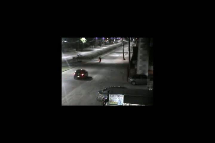 Câmera da PM flagra suspeitos disparando tiros em Joinville