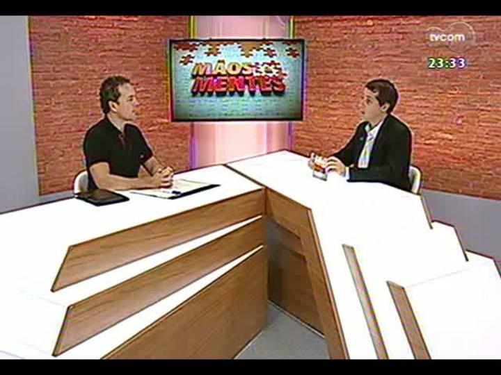 Mãos e Mentes - Diretor-técnico da SBPA Simuladores de Vôo, Luciano Zoppo - Bloco 1 - 02/05/2013