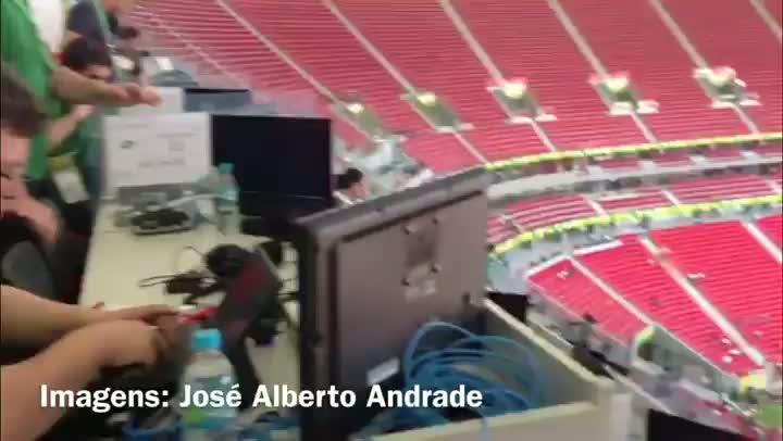 Conheça o estádio Mané Garrincha, onde a seleção irá jogada neste sábado - 14/06/2013