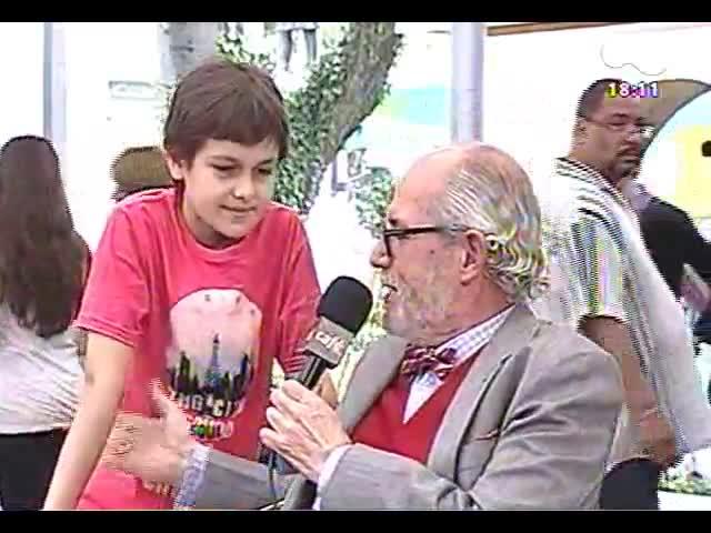 Café TVCOM - Bate-papo com a convidada especial Claudia Tajes direto da 59ª Feira do Livro - Bloco 2 - 02/11/2013