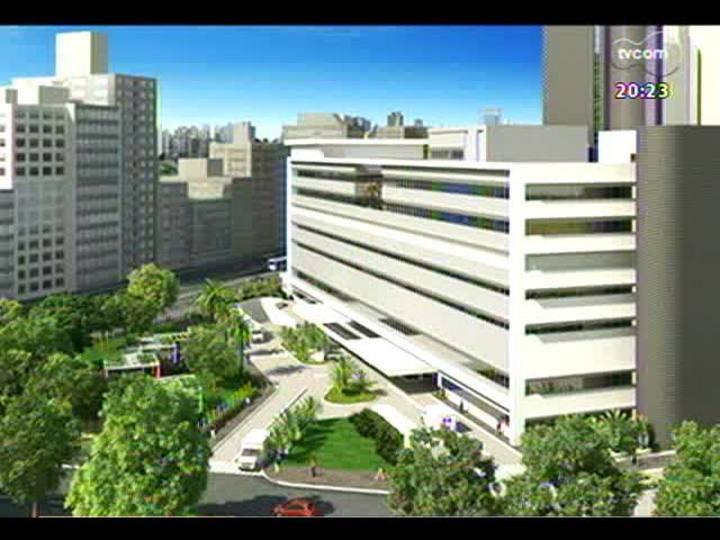 TVCOM 20 Horas - Saiba como será a ampliação do Hospital de Clínicas de Porto Alegre - Bloco 3 - 07/11/2013
