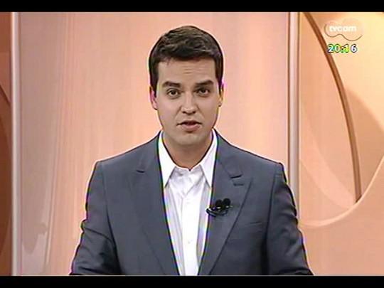 TVCOM 20 Horas - Declaração do Prefeito de Porto Alegre coloca em dúvida a copa do Mundo na capital - Bloco 2 - 24/03/2014