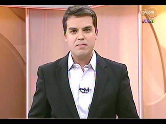 TVCOM 20 Horas - A declaração do ministro da Aviação Civil sobre o equipamento antineblina no aeroporto - Bloco 3 - 03/06/2014