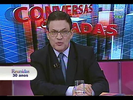 Conversas Cruzadas - Uso de algemas em audiências divide o Judiciário gaúcho - Bloco 4 - 15/07/2014
