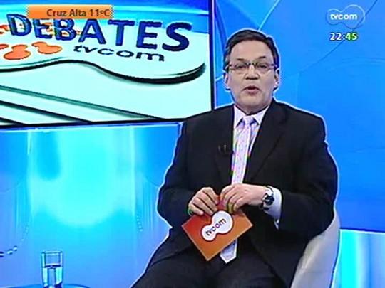 Especial Debates TVCOM - Como melhorar o trâmite de licenças de obras em Porto Alegre?