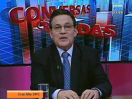 Conversas Cruzadas - A segunda passagem de Dunga pela Seleção será melhor ou pior que a primeira? - Bloco 4 - 22/07/2014