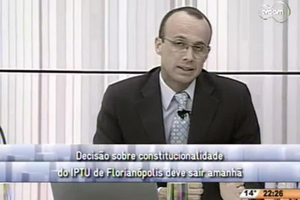 Conversas Cruzadas - Constitucionalidade do IPTU - 2º Bloco - 05/08/14