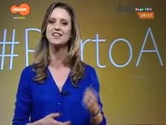 #PortoA - Bárbara Paz fala sobre a peça 'A Toca do Coelho' com Reynaldo Gianecchini em POA
