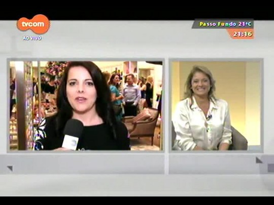 TVCOM Tudo Mais - Costanza Pascolato fala sobre lançamento de bolsa com seu nome