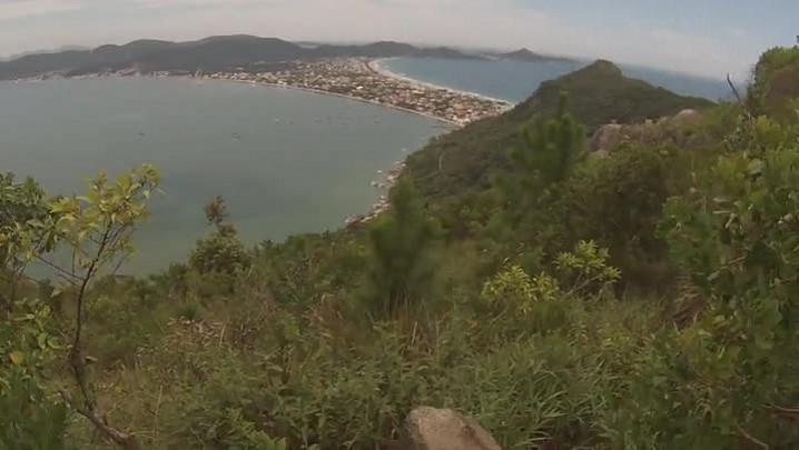 Bike repórter passa pelo Mirante Eco 360º em Canto Grande