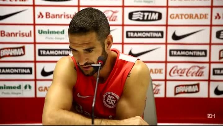 """Lisandro López: \""""Estava com saudade de sentir o calor do nosso futebol\"""""""