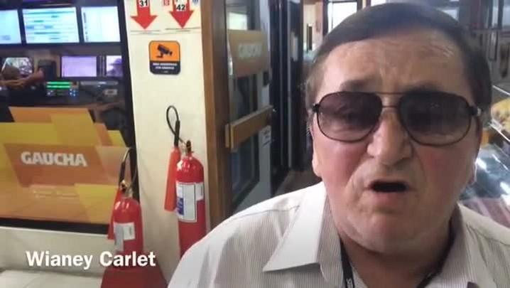 Wianey Carlet fala sobre Inter x Avenida