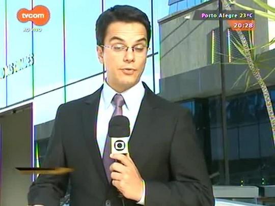 TVCOM 20 Horas - Prefeitos gaúchos vão a Brasília cobrar repasses atrasados para as áreas da educação e mobilidade - 15/04/2015