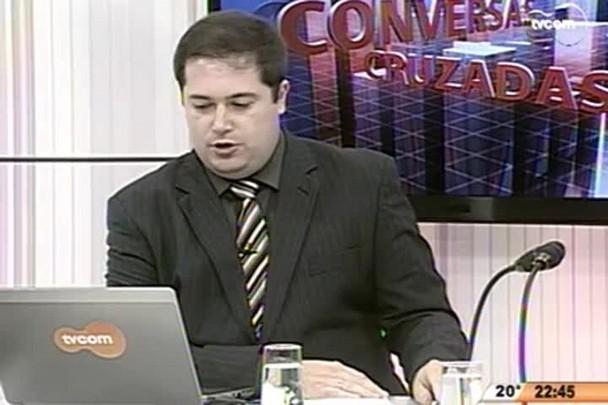 Conversas Cruzadas - SC tem menor taxa de desemprego do país - 3º Bloco - 13.05.15
