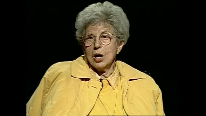 Eva Sopher – Sobre promover cultura – Entrevista concedida à TVCOM em 2003