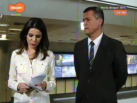 TVCOM 20 Horas - Porto Alegre recebe novas câmeras de segurança - 30/09/2015