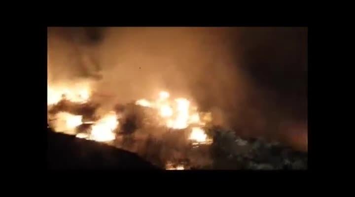Dois carros pegam fogo e uma pessoa morre em acidente na BR-287 em São Pedro do Sul