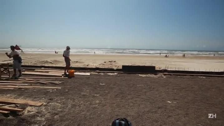 Praias do Litoral Norte receberão veranistas em meio a obras