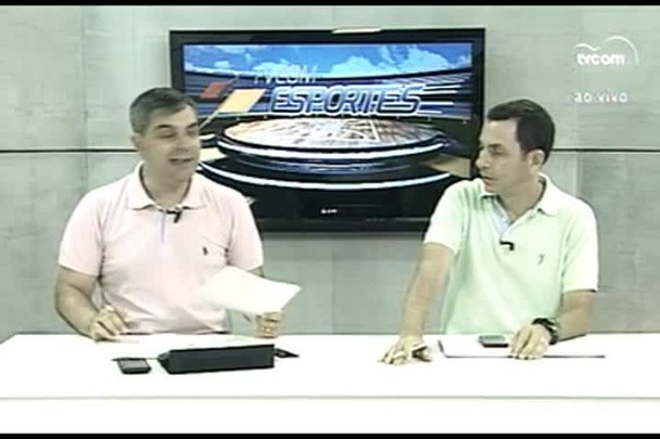 TVCOM Esportes. 1º Bloco. 04.03.16