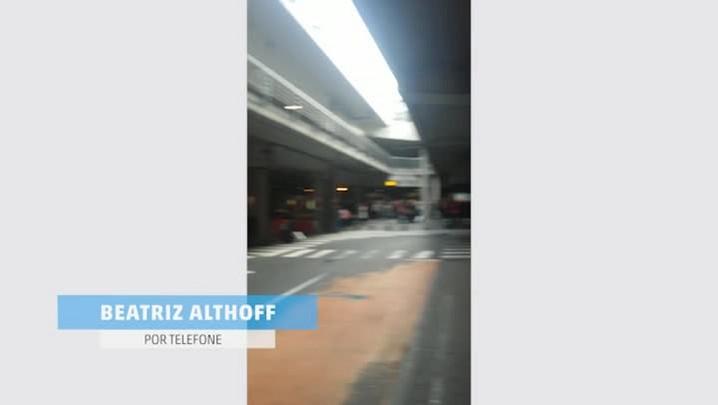 Catarinense relata o que viu ao desembarcar no aeroporto de Bruxelas momentos depois do atentado