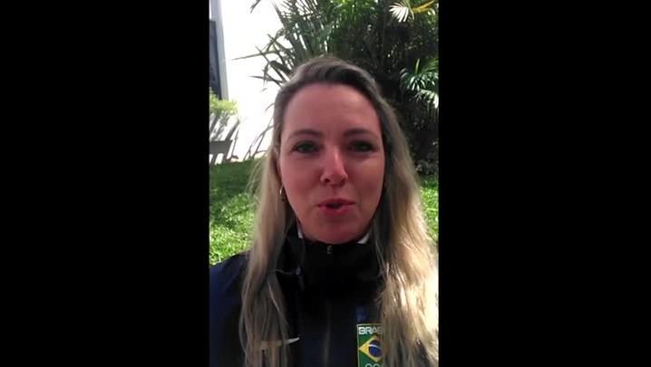 Rosane Budag, atleta da seleção brasileira de tiro, fala sobre a Olimpíada no Rio de Janeiro