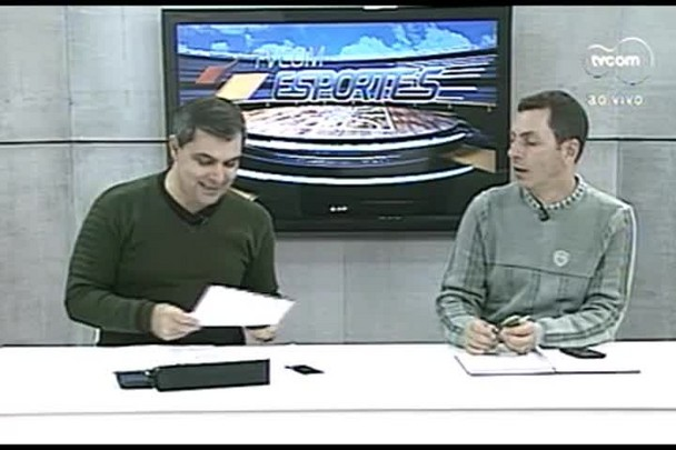 TVCOM Esportes. 1º Bloco. 19.05.16