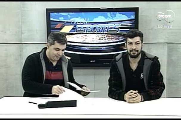 TVCOM Esportes. 2º Bloco. 19.07.16