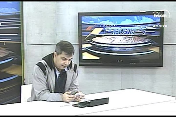 TVCOM Esportes. 4º Bloco. 28.07.16