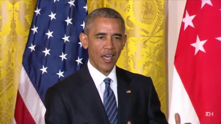 Obama diz que Trump não tem condições de ser presidente