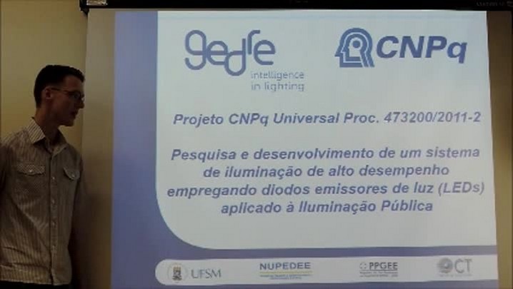 Tecnologia desenvolvida na UFSM propõe economia na iluminação pública