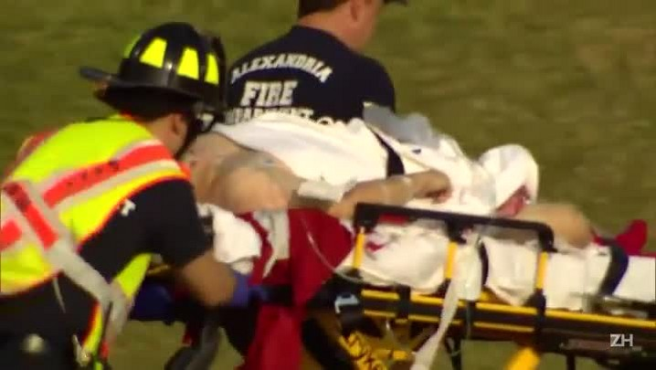 Político americano fica ferido em tiroteio