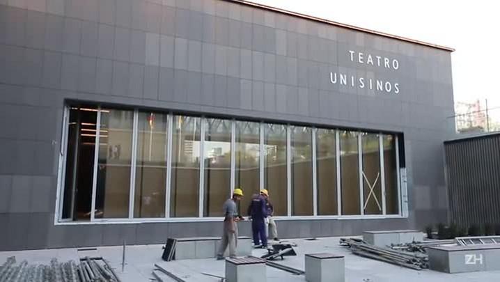 Conheça o Teatro Unisinos