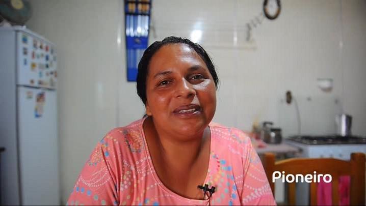 Paula ficou desempregada em Caxias do Sul