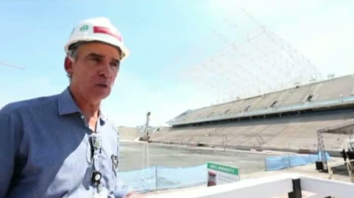 Um passeio pelo Itaquerão, o novo estádio do Corinthians