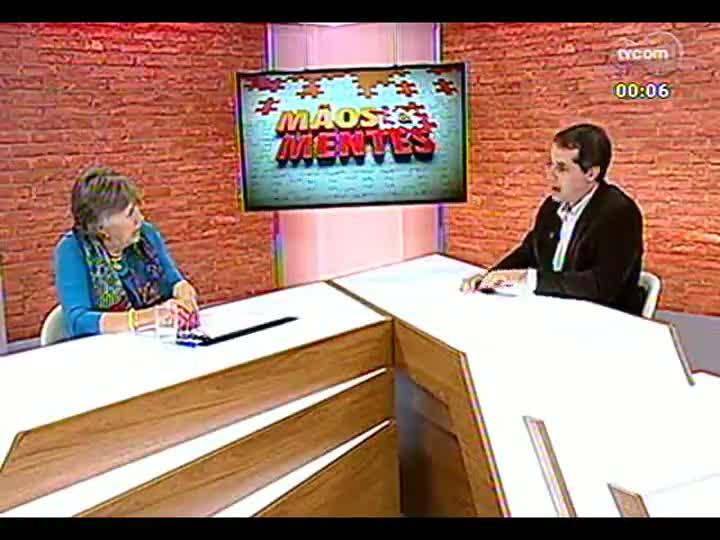 Mãos e Mentes - Prefeita de Vila Franca de Xira, Portugal, Maria da Luz Rosinha - Bloco 4 - 10/06/2013