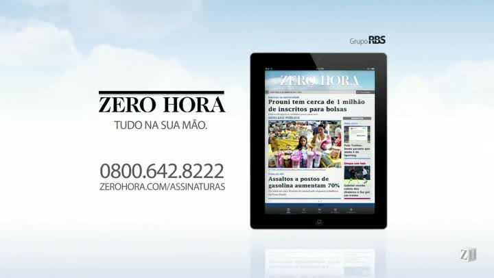 Leia na Zero Hora desta terça-feira (18/04/2013)