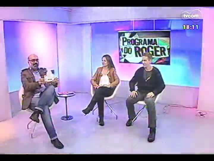 Programa do Roger - Escritores Antonio Navarro e Zu Escobar lançam \'O incrível mundo dos Nínuys\' - bloco 3 - 09/07/2013
