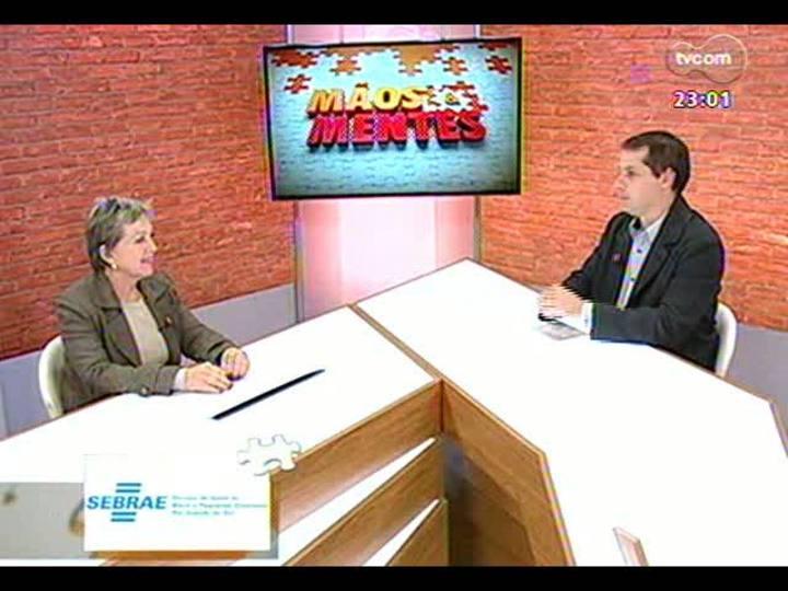Mãos e Mentes - Desembargadora, presidente do TRE-RS, Elaine Harzheim Macedo - Bloco 1 - 21/07/2013