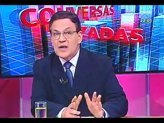 Conversas Cruzadas - O favoritismo de Dilma para as eleições de 2014 apontado pelo Ibope e as repercussões dos fatos da semana nesse cenário - Bloco 1 - 25/10/2013