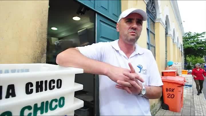 Comerciante Marcelo Jacques contou com a solidariedade durante apagão