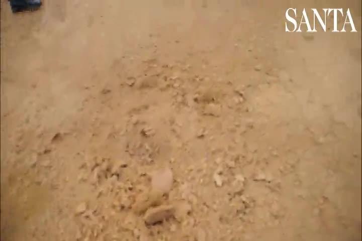 Detonação do explosivo que seria usado para estourar caixa eletrônico em Blumenau