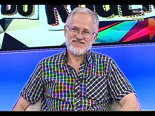 Programa do Roger - O escritor Charles Kiefer fala sobre a literatura - Bloco 2 - 20/01/2014