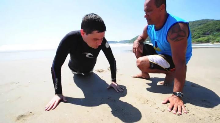 Surfe com o DC - Sensação de surfar de uma pessoa com deficiência visual