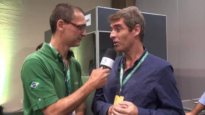 Entrevista com jornalistas que cobrem congresso da FIFA