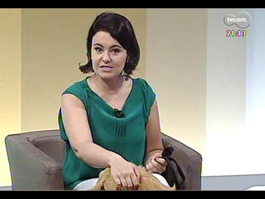 TVCOM Tudo Mais - \'Tudo Mais Pet\': saiba mais sobre o trabalho de um curso que estimula a participação de cães no tratamento de doenças