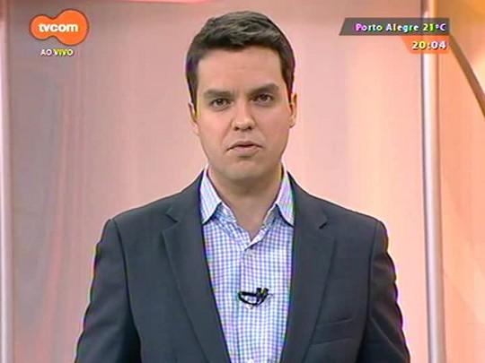 TVCOM 20 Horas - Decisão de soltar suspeito de estuprar jovem próximo à Usina do Gasômetro causa polêmica - Bloco 1 - 15/10/2014