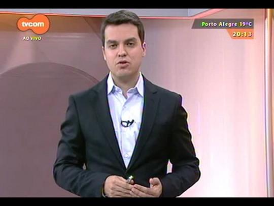 TVCOM 20 Horas - Obras do entorno do Beira-Rio para a Copa do Mundo ainda não terminaram - Bloco 2 - 20/10/2014