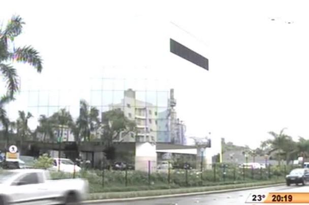TVCOM 20 Horas - Foi feito em Joinville um transplante inedito de íris - 25.11.14