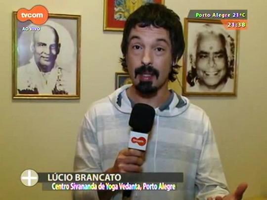 TVCOM Tudo Mais - Lúcio Brancato troca os palcos da noite por um recital de música clássica indiana