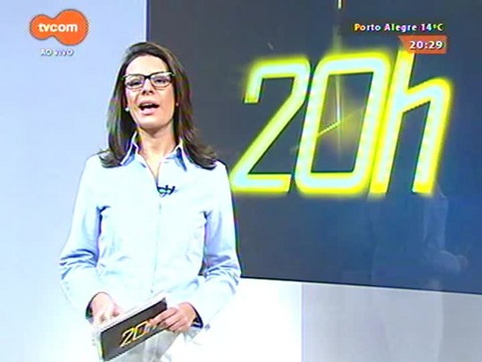 TVCOM 20 Horas - Fortunati sanciona lei que prevê plebiscito para cercamento da Redenção - 01/06/2015